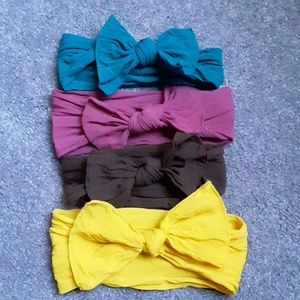 4 Baby Bling Bows